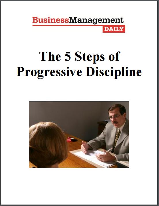 progressive discipline template - effective employee discipline policies and documentation
