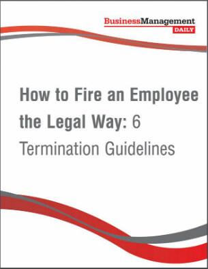 How To Fire An Employee The Legal Way  Termination Guidelines