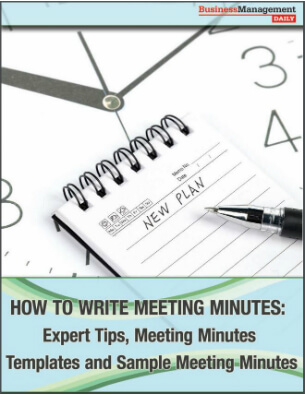 How to Write Meeting Minutes: Expert Tips, Meeting Minutes Templates ...