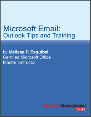 Microsoft Email: Outlook Tips and Training