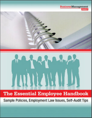 The Essential Employee Handbook Sample Policies Employment Law