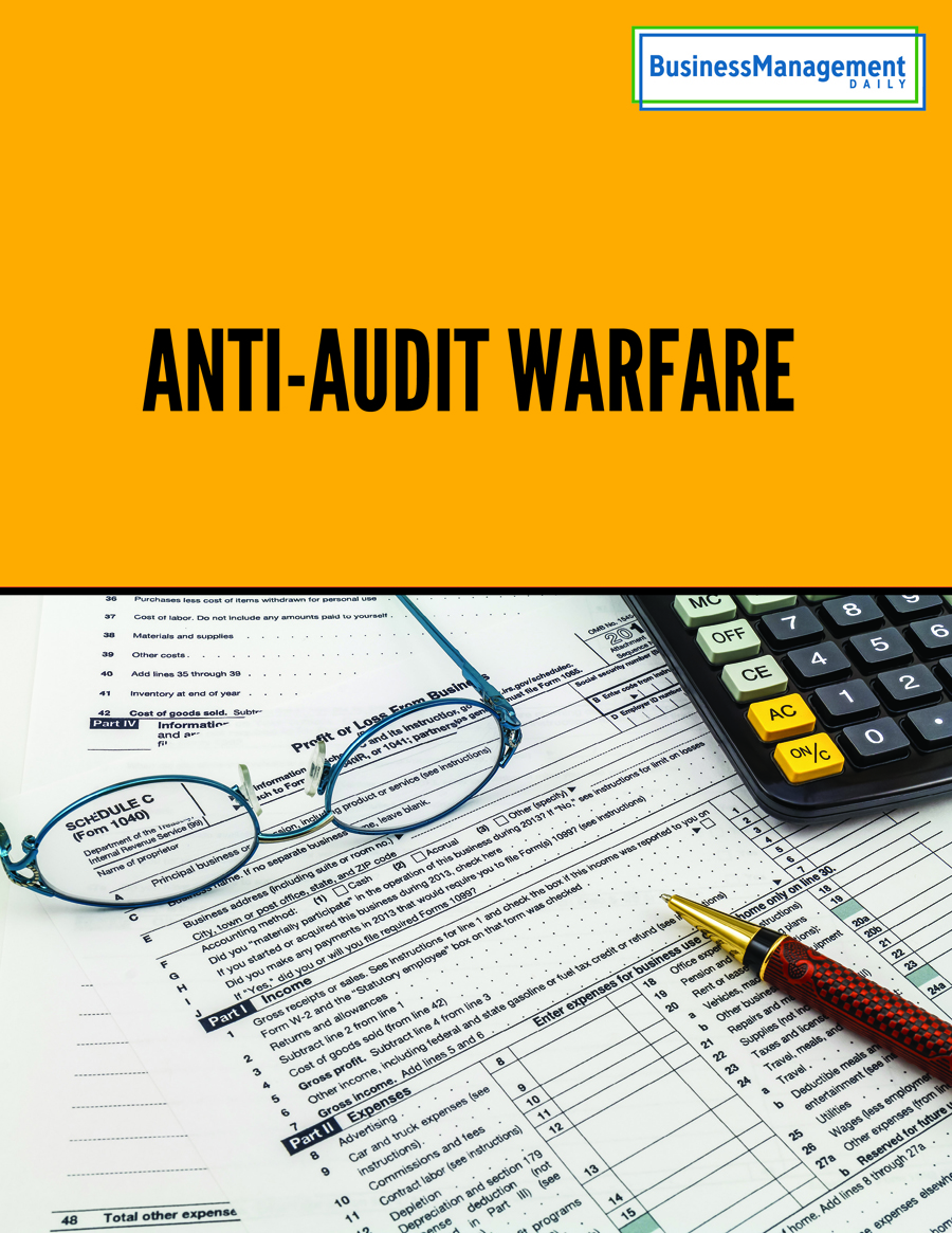 Anti-Audit Warfare